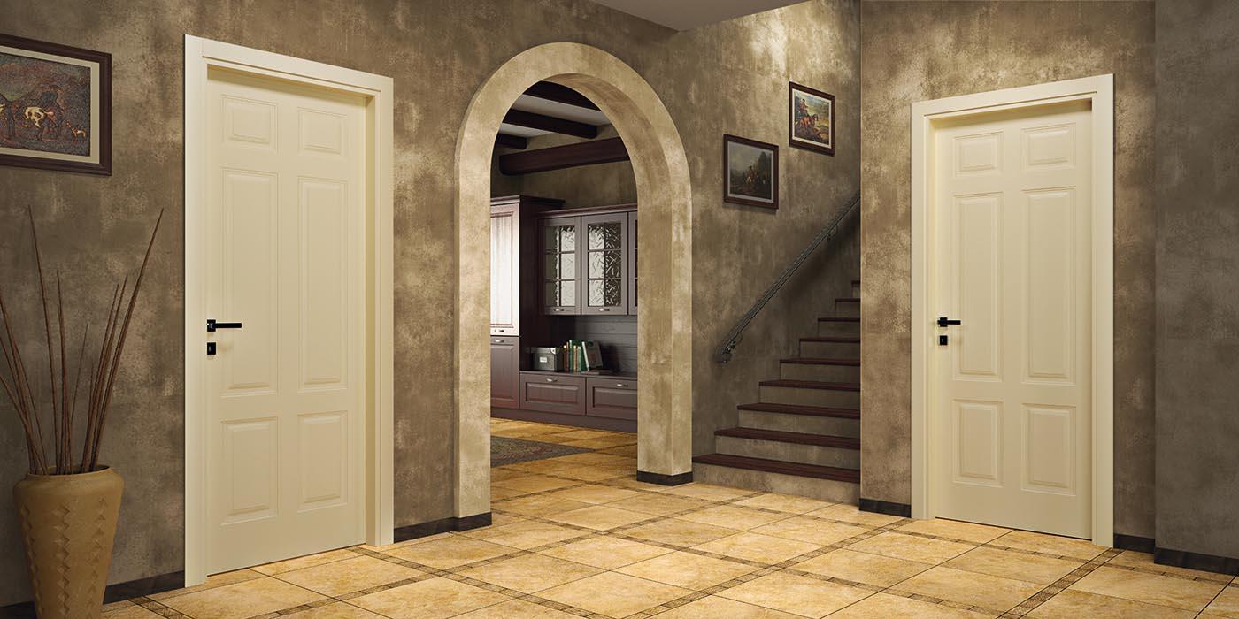 Porte classiche mi ba for Porte in legno grezzo